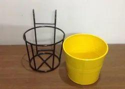Powder Coated TNZ Creations Metal Railing Baskets