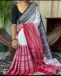 Begum Puri Handloom Cotton Saree