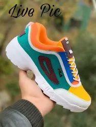 Mens Comfort Foam Lace Up Shoes, Size: 7 x 10