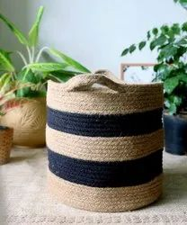 Cotton Rope Storage Basket, For Household, Size: Customisable