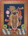 Srinath ji Tanjore painting