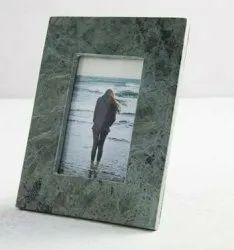 Stone Green Decorative Photo Frame, For Decoration, Size: 9