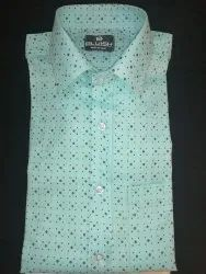 BLUISH PC and pure cotton Men Readymade Shirts