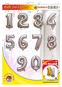 16 Number Silver Foil Balloon