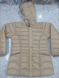 Woolen Girls Ladies Winter Jacket Manufacturer, Size: 40 size
