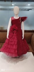 Maroon And Navy Partywear Frocks 20/30