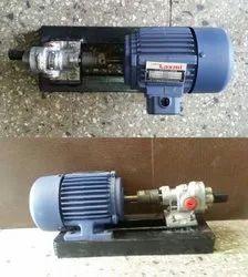 Cast Iron Motorized Oil Pump, Max Flow Rate: 20lpm