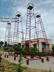 MS Railway Platform Trolley Ladder