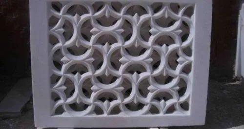 White Marble Stone Jali