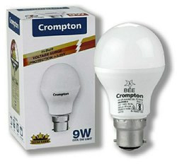 Ceramic Round Crompton Led Bulb 9 Watt
