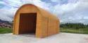 Modular Prefabricated Wooden Effect Fiber House