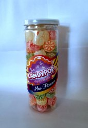 Mix flavours Round Mixed Flavour Candy, Packaging Type: Plastic Jar