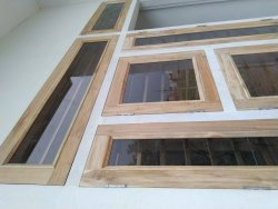 Teak Wood Window