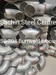 SS 304 Buttweld Elbow