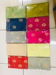 Katan Silk Woven Banarasi Handloom Weaving Top Bottom Dupatta
