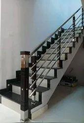 SSM62 Stainless Steel Wooden Stair Railing