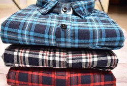 Full Sleeves Men Check Shirts, Size: S M L Xl Xxl