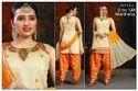 Jacquard Stitched Patiala Suit, Handwash