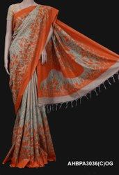 Kota silk basnwara digital print saree