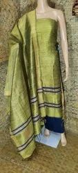 Tussar Silk Suit Materials