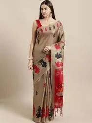 Ligalz presents Khadi silk sarees with jalar