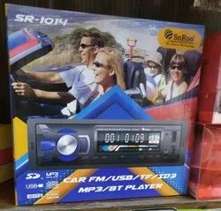 Red Mp3 player single din