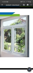 Okotech Residential Upvc Windows, Glass Thickness: 6mm