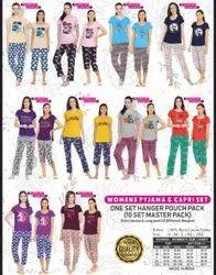 Women Night Pyjama Set
