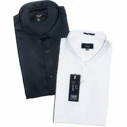 Mark Me 100% Cotton Mill Made Fabric Desinger shirt, Size: Small Medium Large Xl Xxl