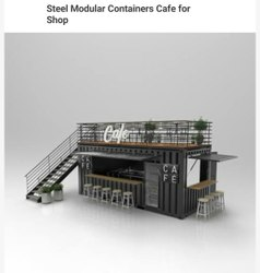 Steel Modular Container Cafe For Shop