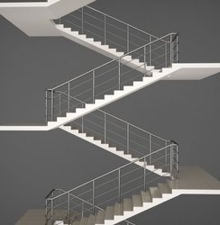 SSM85 Stainless Steel Staircase Railing
