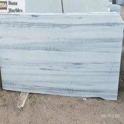 White Makrana Whitish Albeta Marble, Slab, Thickness: 18 mm