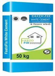 Fastofix white cement, 50 Kg