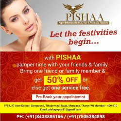11am To 7 Pm Manually Beauty Services for Ladies, Thane Manpada