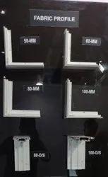 60mm Aluminium Profile for Fabric Light Box