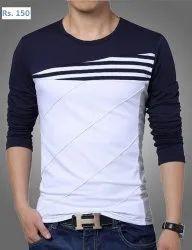 Mens Designer Full Sleeve T Shirt