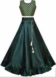High End Stitching Of Designer Wear Lehenga For Marriage And Events.