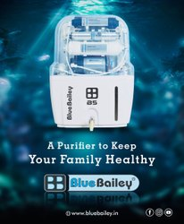 蓝色Bailey B5净水器