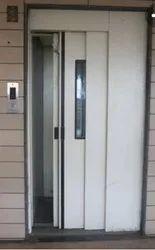 Mild Steel Partition Doors MS Manual Telescopic Door