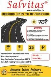 White Thermoplastic Road Marking Paint, Powder, Packaging Size: 25kg