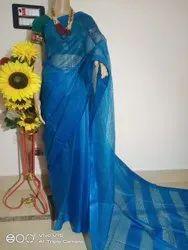 Kota Silk Check Designer Sarees