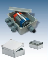 White ABS Polycarbonate Enclosures, IP Rating: Ip 65 & 44, Size/Dimension: 160 X 210 X 100 Mm