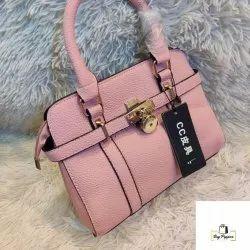 Pu Leather Adjustable Ladies Handbag, For Casual Wear