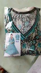 Party Wear Color - 3 Saina Umbrella Long Sleeve