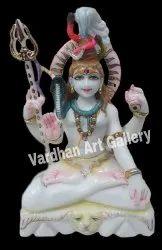 Marble Bholenath Statue