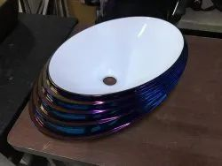 Wall Mounted Hydrochrome colors chrome wash besin, For Hotel