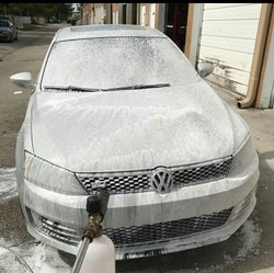 At Home Car Washing