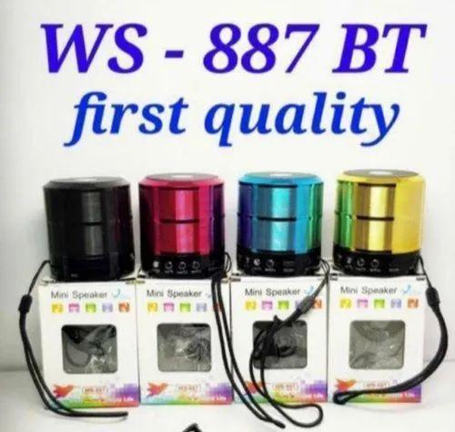 Mini Wireless 887 Bluetooth Speaker