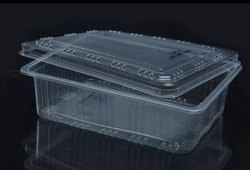 Sealable plastic Tray