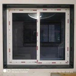 White Modern Upvc Sliding Windows, For Home